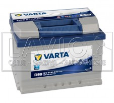 Varta Blue Dynamic 12V/60Ah; 540A